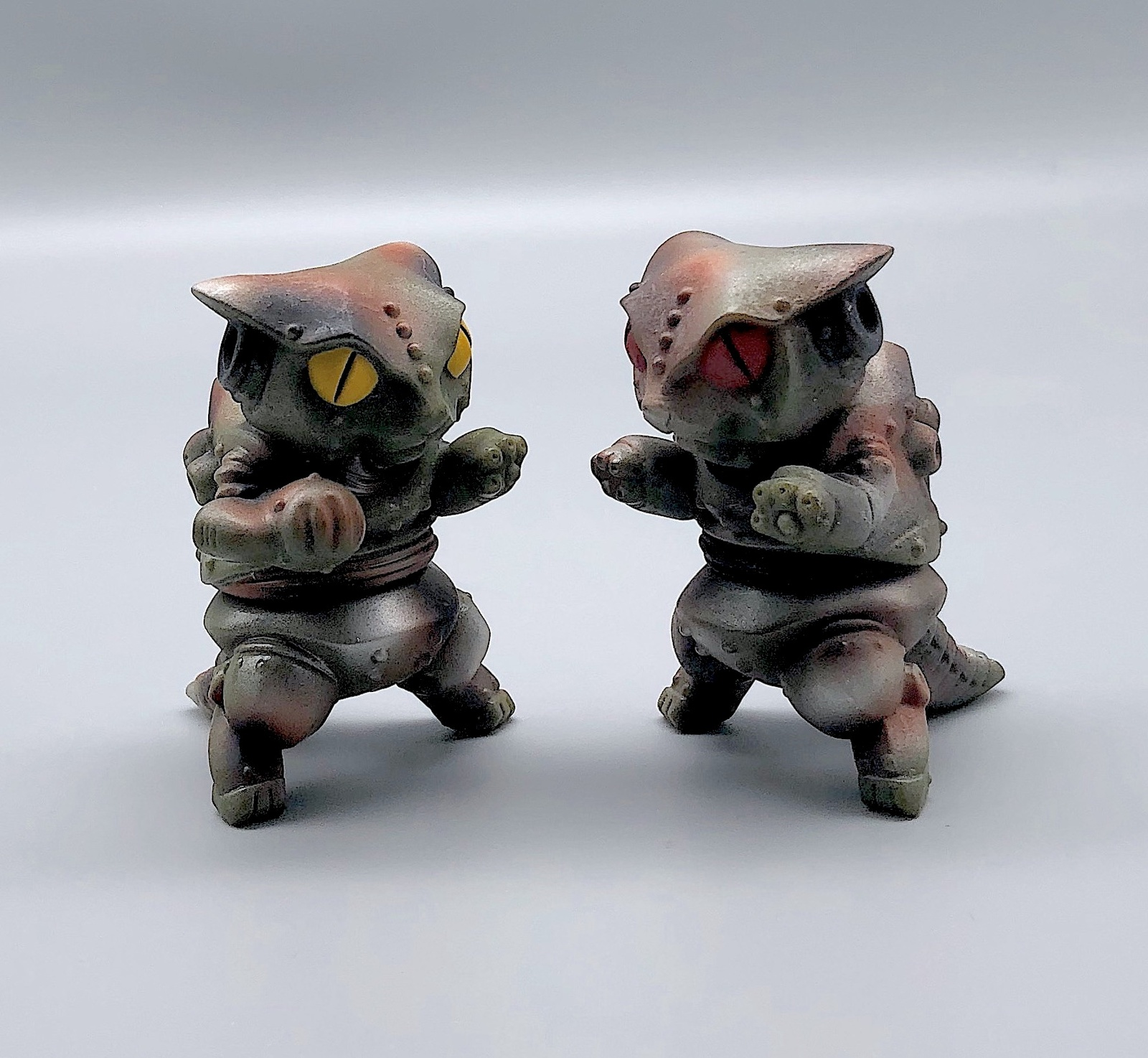 Max Toy Pair of Camouflage Mini Mecha Nekoron - Rare
