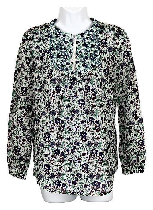 3a280dea39491 J Crew Liberty Of London Blue Floral Tunic and 50 similar items