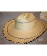 Summit Hat Co.  Straw Cowboy Hat   Sahuayo Legitimo  Size 7  1000X   NICE!! - $39.99