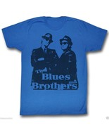 T-Shirts Sizes S-2XL Authentic Mens The Blues Brothers Big Blue Mens Tee... - $25.59+