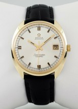 Omega ω Seamaster Cosmic Men's Automatic Gold-Plated Watch w/ Date Cal. 565 - $1,442.05
