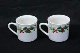 Target Home Xmas Charm Holly Berry Cups Lot of 12 image 2