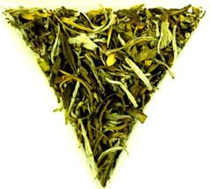 From England Lu Mu Dan Chinese Green Tea Loose Leaf Special Rare and Unusual - $14.00