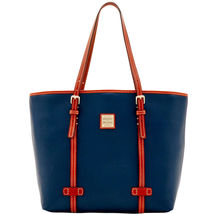 Dooney & Bourke East/West Blue Pebble Grain Lea... - $449.99
