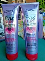 L'OREAL Paris EverPure Rosemary Moisture Shampoo & Conditioner Set 8.5oz - $12.19