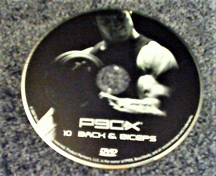 Primary image for P90X Disc # 10 Back & Biceps Replacement DVD DISC ONLY