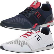 Lacoste Men's Premium Sport Menerva Elite 120 CMA Textile Sneakers Shoes