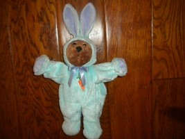 "Galerie Teddy Bear In Bunny Suit Plush Doll 14"" Easter - $19.80"