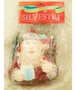 Silvestri Old World Santa Claus Toys List Large Christmas Tree Ornament - $17.81