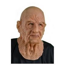 Halloween Mask Old Man Fun Funny Haunted House Theatre Flesh Scary Joke  - $70.00