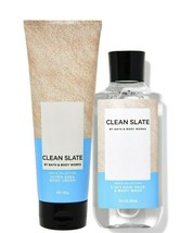 Bath & Body Works Clean Slate Body Cream + 3-in-1 Hair, Face & Body Wash Duo Set - $34.95