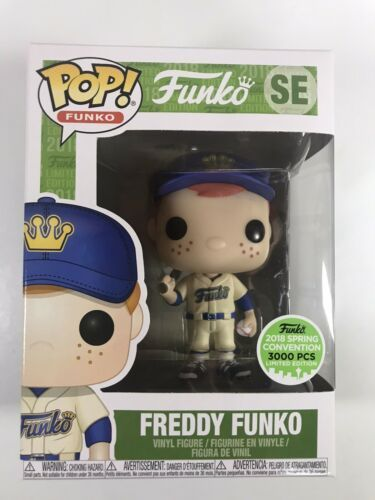 Primary image for Funko - 2018 Freddy Baseball Alternate SE - Pop ECCC Funko Shop 3000pcs E2