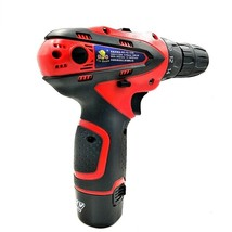 12V 2 Batteries Screwdriver Electric Drill Cordless Power Tools Mini Drill - $78.99