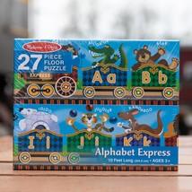 NEW MELISSA AND DOUG 27 PIECE ALPHABET EXPRESS PUZZLE 4420 - $30.68