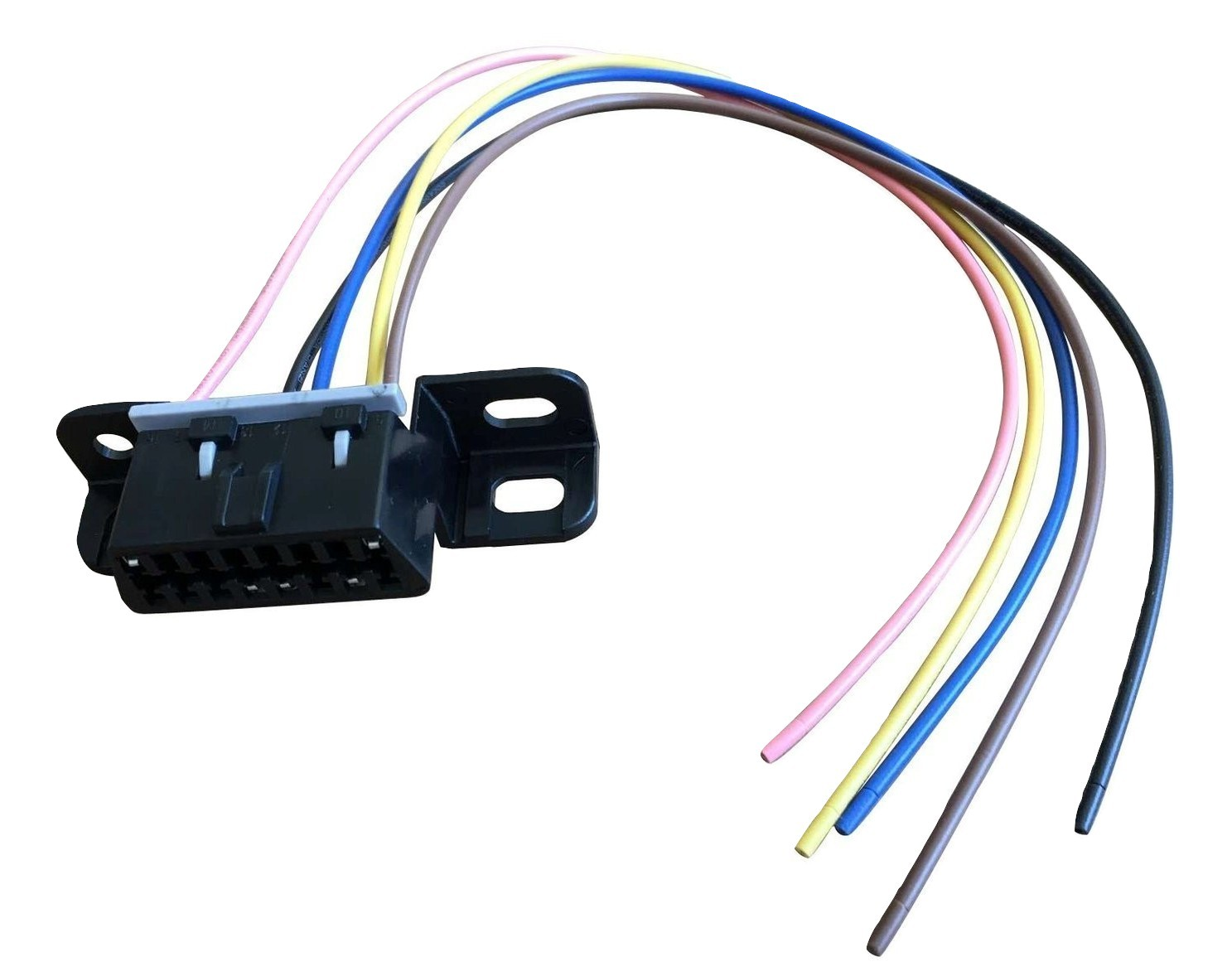 A-Team Performance OBD II OBD2 Dash Port Wire Pigtail Wiring Harness Plug In Cab