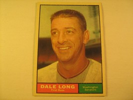 MLB Topps Baseball Card 1961 DALE LONG #117 [b5e5] - $2.40
