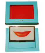 Kate Spade New York Snap Happy Lips Business Card Holder - $28.99