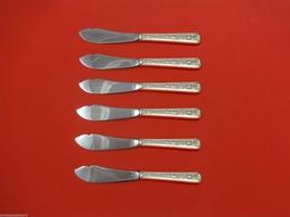 "Windsor Rose by Watson Sterling Silver Trout Knife Set 6pc. HHWS  Custom 7 1/2"" - $366.80"