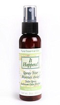 It Happens Toilet Poo Spray Deodorizer 2oz. Bottle Spring Herbal Scent -NEW - $10.84