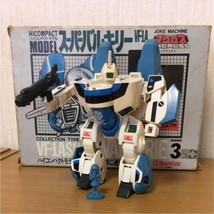 BANDAI  Macross Hicompact model  Valkyrie VF1A max type Toy Used E93 - $439.99
