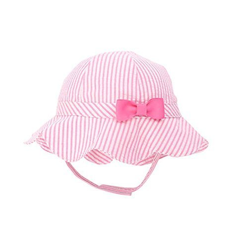 Pink,Sun-proof Cute Pure Cotton Comfortable Ventilate Bucket Hat/Kid Cap