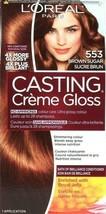 1 Ct L'oreal Casting Creme Gloss 553 Brown Sugar Up To 28 Shampoos Colou... - $17.99