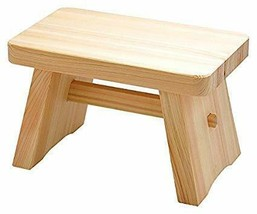Yamaco Hinoki Pure Wood Regular 210mm Size Bath Stool?B00HZZRC2C - $122.00