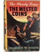 HARDY BOYS The Melted Coins by Franklin W Dixon (c) 1944 G&D HC w/dj - $14.84