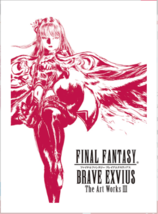 FINAL FANTASY BRAVE EXVIUS The Art Works Vol 3 Limited Book - $61.44