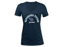 Tennessee Titans NFL Women's Checkdown T-Shirt - $16.95