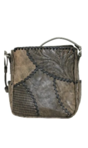 American West- Gypsy Patch All Access Crossbody Bag- Distressed Charcoal - $189.00