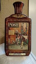 Jim Beam 1976 Bicentennial Norman Rockwell Sat. Evening Post Collector's Bottle - $17.62