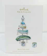 2008 Hallmark Merry Fish-mas! B.A.S.S. Fishing Lure Tree Ornament - Exce... - $12.65