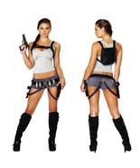 Sexy Lara Croft Tomb Raider Treasure Hunter Womens 5pc Costume 4492 - $59.95+