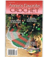 Annies Favorite Crochet December 2000 Back Issue - $4.99