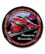 Olympian Train Lighted Wall Clock - $129.95