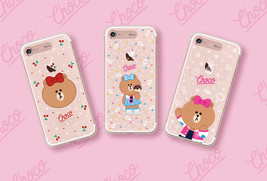 LINE Friends New CHOCO Lighting Case iPhone 7/7 Plus Cover Mobile Skin C... - $43.98
