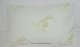 Unbranded B01BQR8Q Aloe Vera Bamboo Cover Shredded Memory Foam Pillow Queen Size image 2