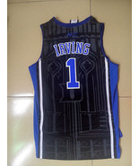 NCAA Duke Blue Devils #1 Kyrie Irving Men Stitched Basketball Sewn S-XXL Jersey - $20.93