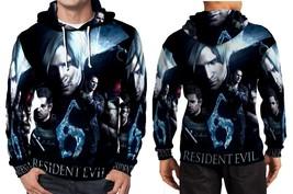 Resident Evil 6 Cover Hoodie Fullprint Men - $41.80