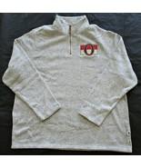 CCM NHL Hockey Ottawa Senators 1/4 Zip Pullover Long Sleeve Sweater Men'... - $44.55