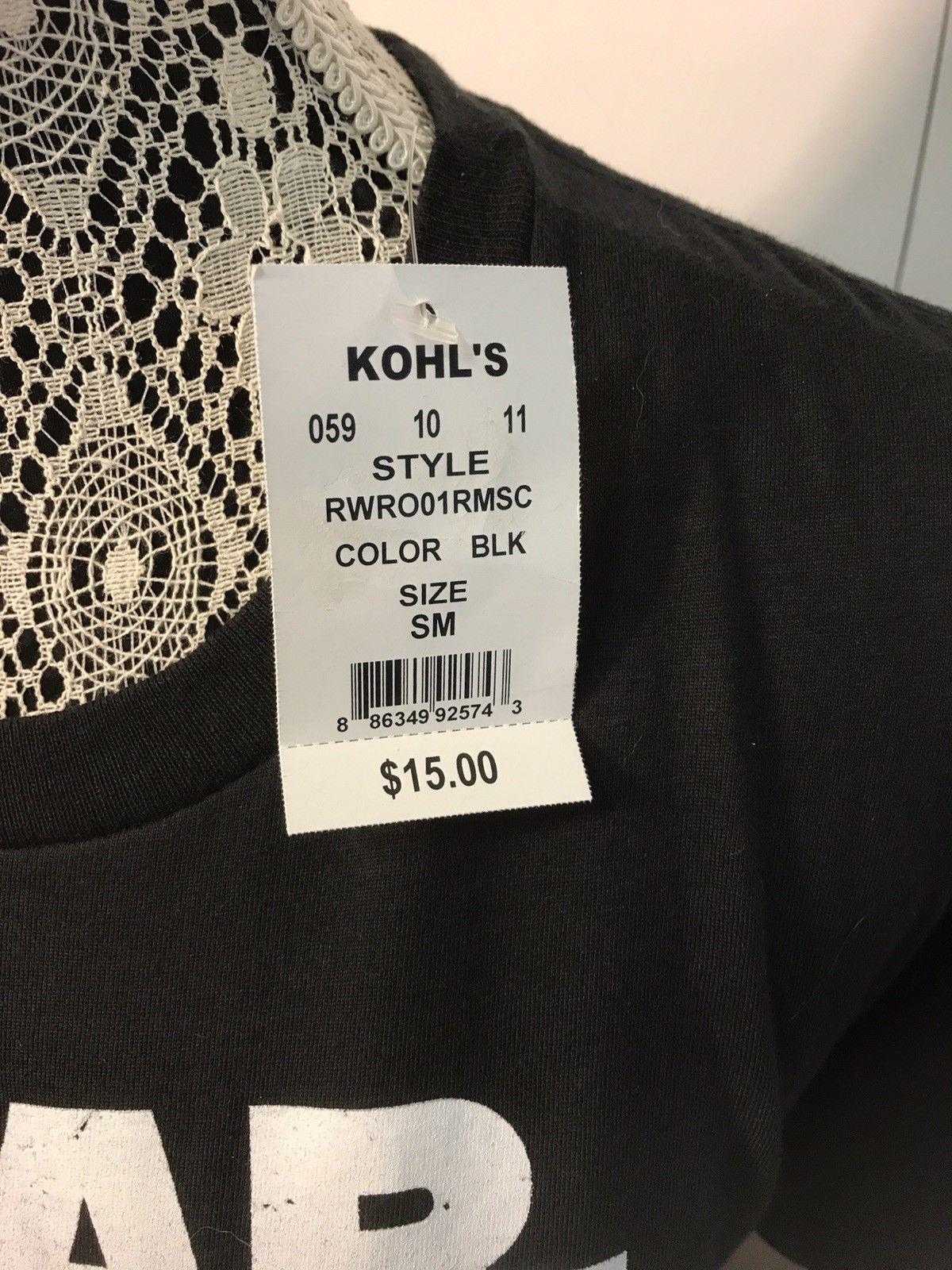 NEW Star Wars Rogue 1 Small T Shirt Black W/tags
