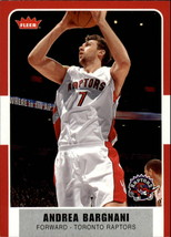 2007-08 Fleer #15 Andrea Bargnani NM Near Mint Raptors - $0.75