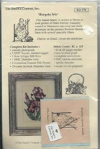 Borgota Iris Counted Cross Stitch Kit from The Heart's Content, Inc Kit ... - $49.49
