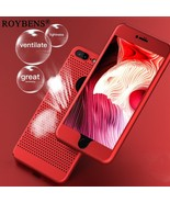 Roybens® For IPhone 8 7 6 Case Heat Dissipation 360 Full Ultra Thin Hard PC - $7.40