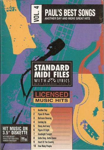 Tune 1000 Paul's Best Songs - Vol 4 MIDI and 50 similar items