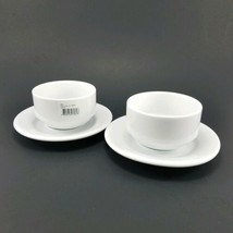 2 Corby Hall Cups & Saucers Fine Porcelain Costaverde Portugal - $22.80