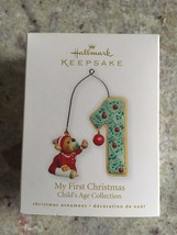 Hallmark Keepsake Ornament 2010 My First Christmas Child's Age Collection Bear - $18.46
