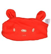 Summer Baby Hats/Caps Infant Bald Head Cotton Hats Red Bear