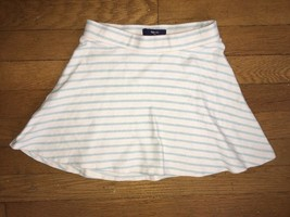 ! Gap Kids blue white striped knit skirt size small 6 - 7 girls - $7.02